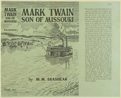 Dust Jackets - Mark Twain, son of Missou