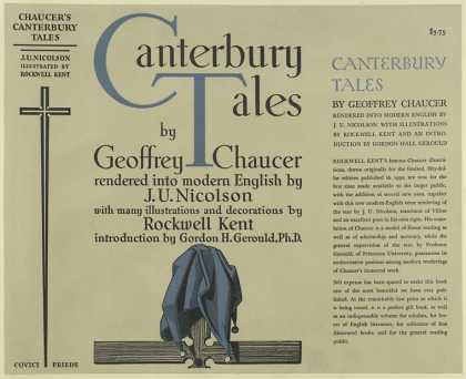 Dust Jackets - The Canterbury tales / by