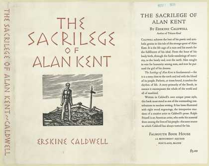 Dust Jackets - The sacrilege of Alan Ken