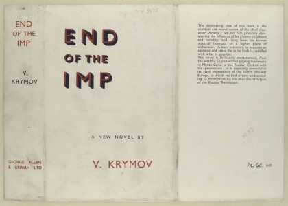 Dust Jackets - End of the imp / V. Krymo