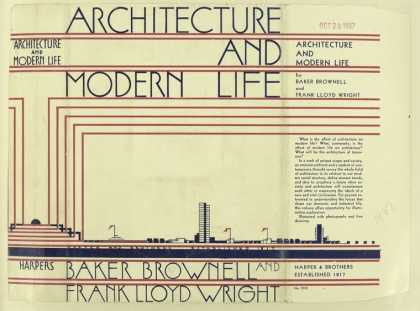Dust Jackets - Architecture and modern l
