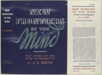 Dust Jackets - New frontiers of the mind