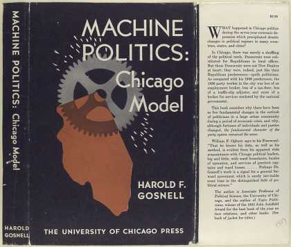 Dust Jackets - Machine politics : Chicag