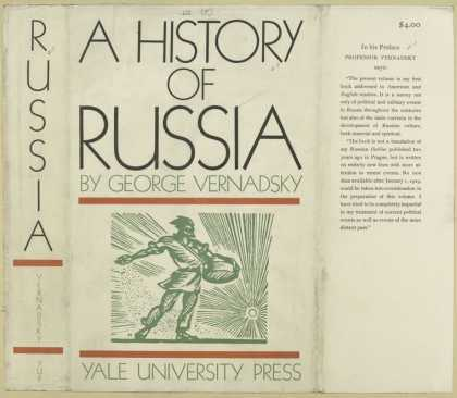 Dust Jackets - A history of Russia.