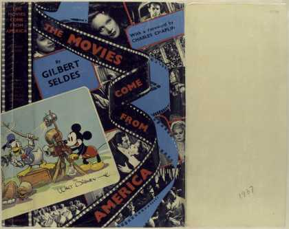 Dust Jackets - The movies come from Amer