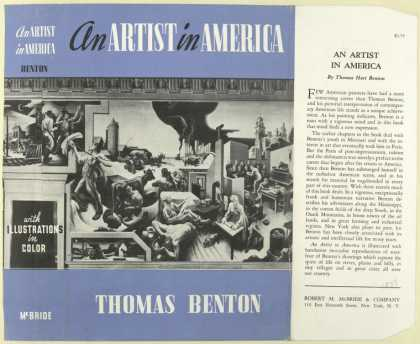 Dust Jackets - An Artist in America / by