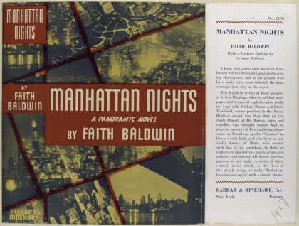 Dust Jackets - Manhattan nights / by Fai