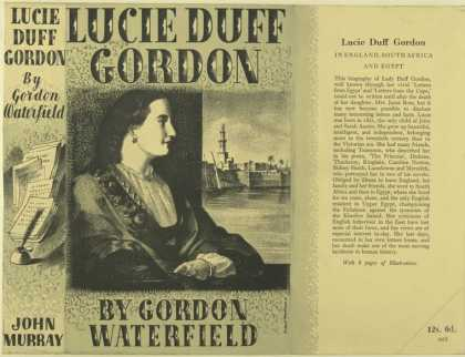 Dust Jackets - Lucie Duff Gordon / by Go