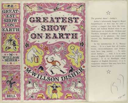 Dust Jackets - Greatest show on earth /