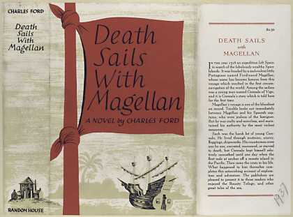 Dust Jackets - Death sails with Magellan