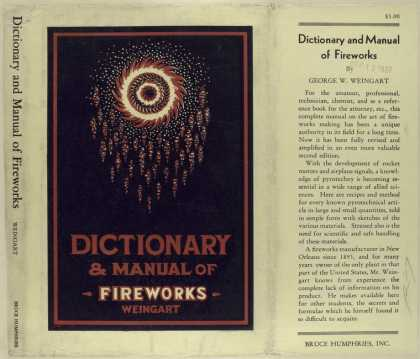 Dust Jackets - Dictionary and manual of