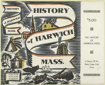Dust Jackets - History of Harwich, Mass.