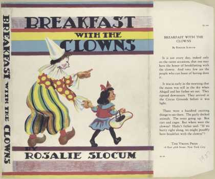 Dust Jackets - Breakfast with the clowns