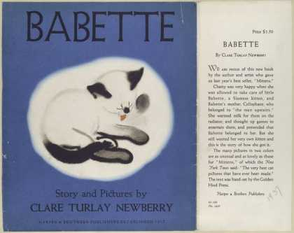 Dust Jackets - Babette / story and pictu