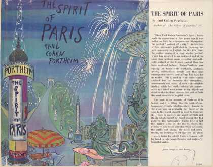 Dust Jackets - The spirit of Paris / Pau