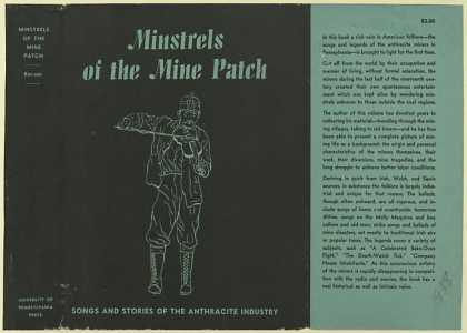 Dust Jackets - Minstrels of the mine pat