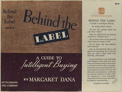 Dust Jackets - Behind the label : a guid