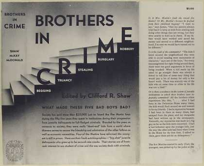Dust Jackets - Brothers in crime / edite