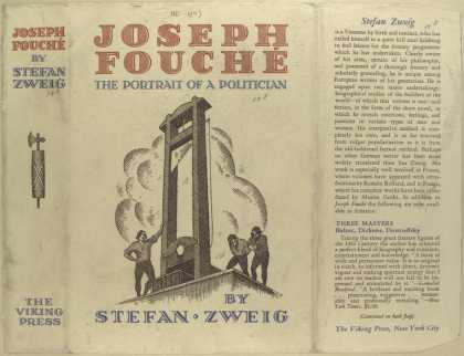 Dust Jackets - Joseph Fouche, the portra