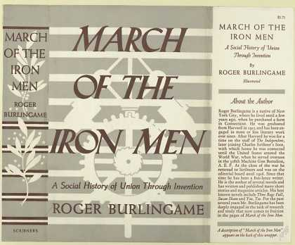 Dust Jackets - March of the iron men : a