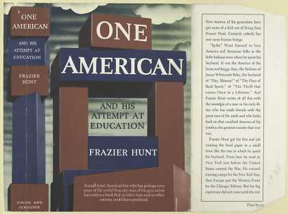 Dust Jackets - One American and his atte