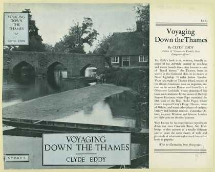 Dust Jackets - Voyaging down the Thames