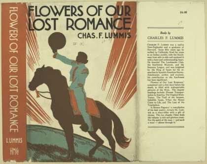 Dust Jackets - Flowers of our lost roman