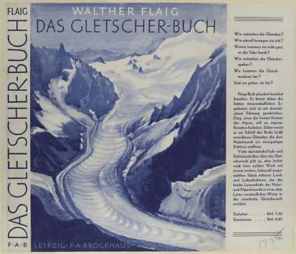 Dust Jackets - Das Gletscherbuch / Walth