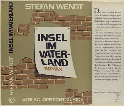 Dust Jackets - Insel im Vaterland : Roma