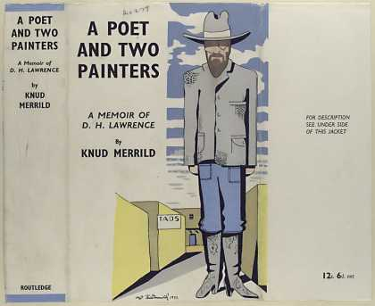 Dust Jackets - A poet and two painters :