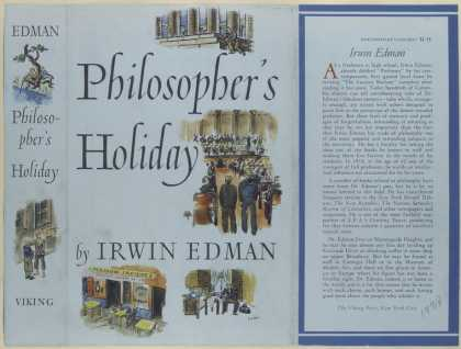 Dust Jackets - Philosopher's holiday / I