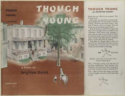 Dust Jackets - Though young : a novel /