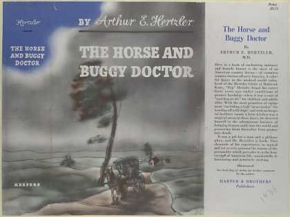 Dust Jackets - The horse and buggy docto