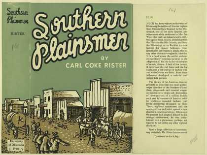 Dust Jackets - Southern plainsmen / Carl