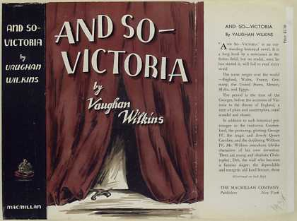 Dust Jackets - And so - Victoria / Vaugh