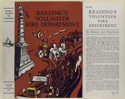Dust Jackets - Reading's volunteer fire