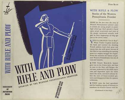 Dust Jackets - With rifle & plow storie