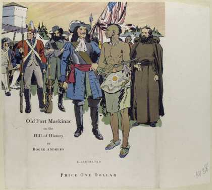 Dust Jackets - Old Fort Mackinac on the