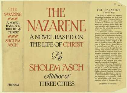 Dust Jackets - The Nazarene : a novel ba