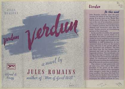 Dust Jackets - Verdun : a novel.