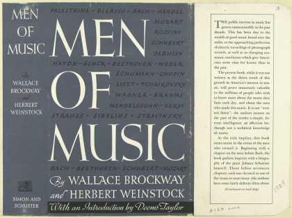 Dust Jackets - Men of music.