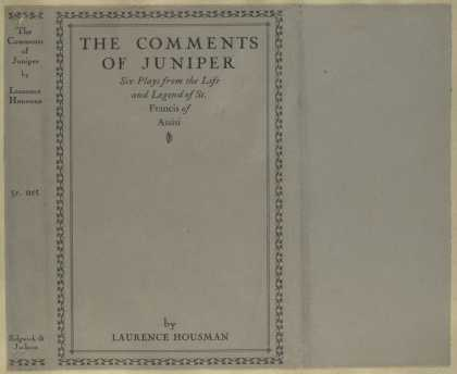 Dust Jackets - The comments of Juniper