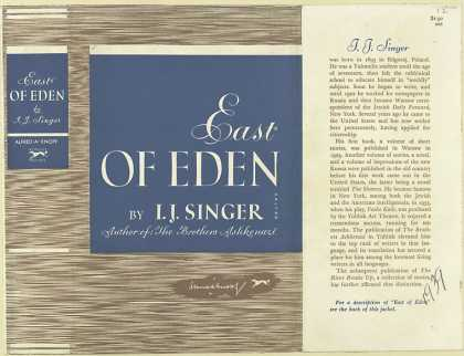 Dust Jackets - East of Eden.