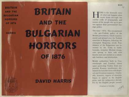 Dust Jackets - Britain and the Bulgarian