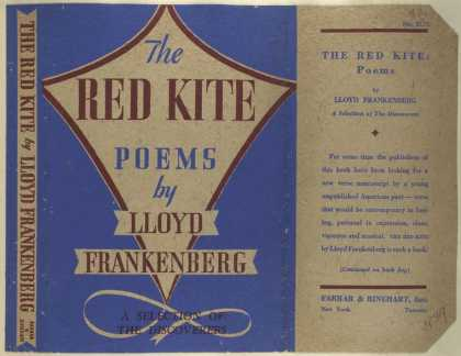 Dust Jackets - The red kite, poems.