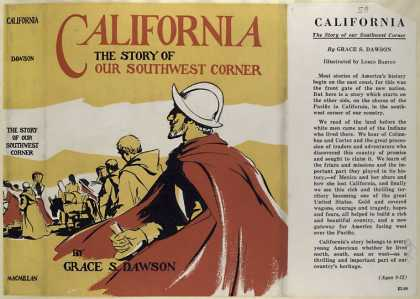 Dust Jackets - California, the story of