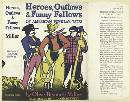 Dust Jackets - Heroes, outlaws & funny f