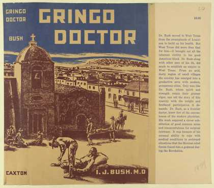 Dust Jackets - Gringo doctor.