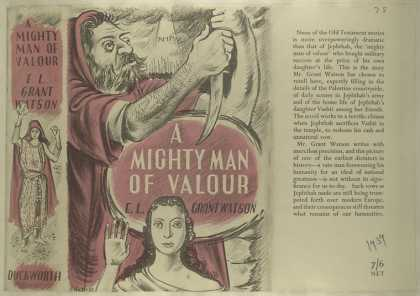 Dust Jackets - A mighty man of valour.