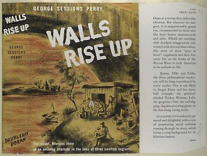 Dust Jackets - Walls rise up.